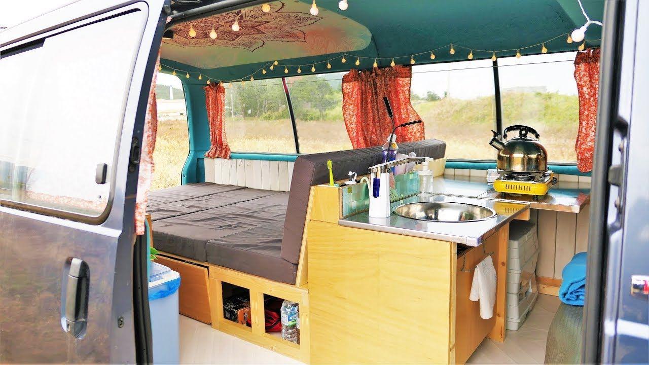6 Months In 10 Minutes Tubi Campervan Build Timelapse