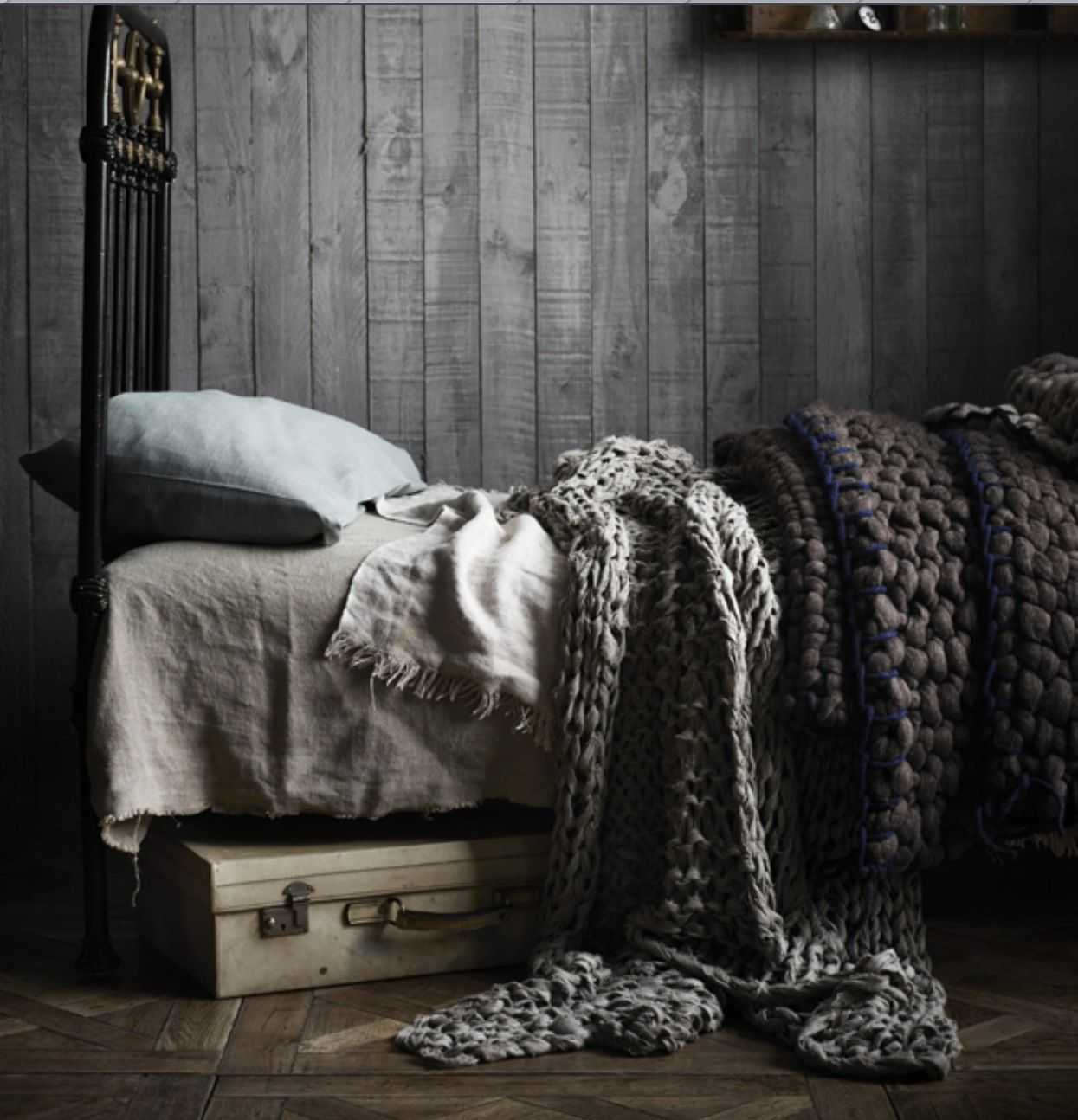 Tricot Decoration Interieur Cozy Thick Knit Blankets Throws Comfy Beds Pinterest