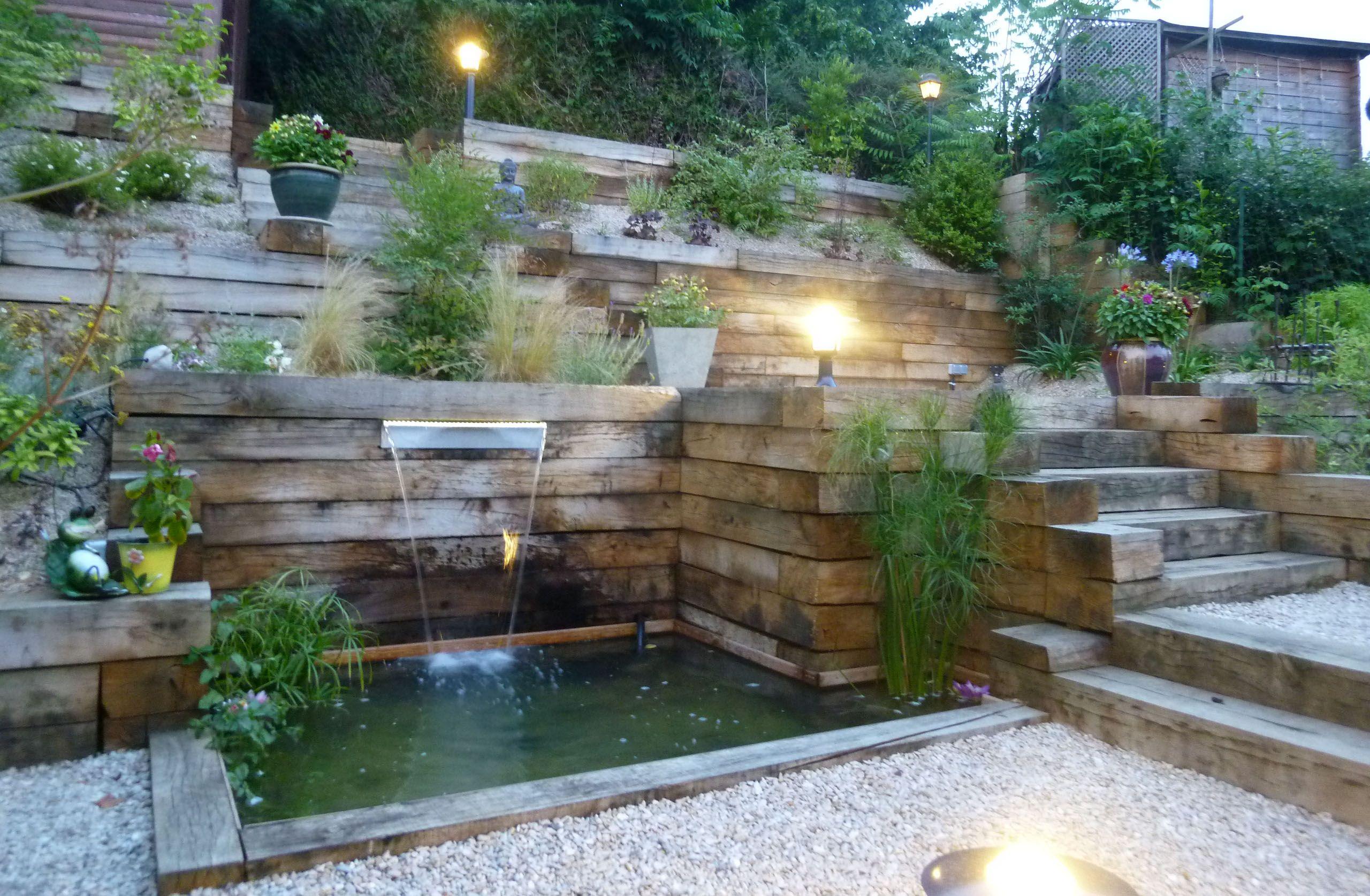Jardin en pente zen moyens d apprivoiser un jardin en for Conseil amenagement paysager