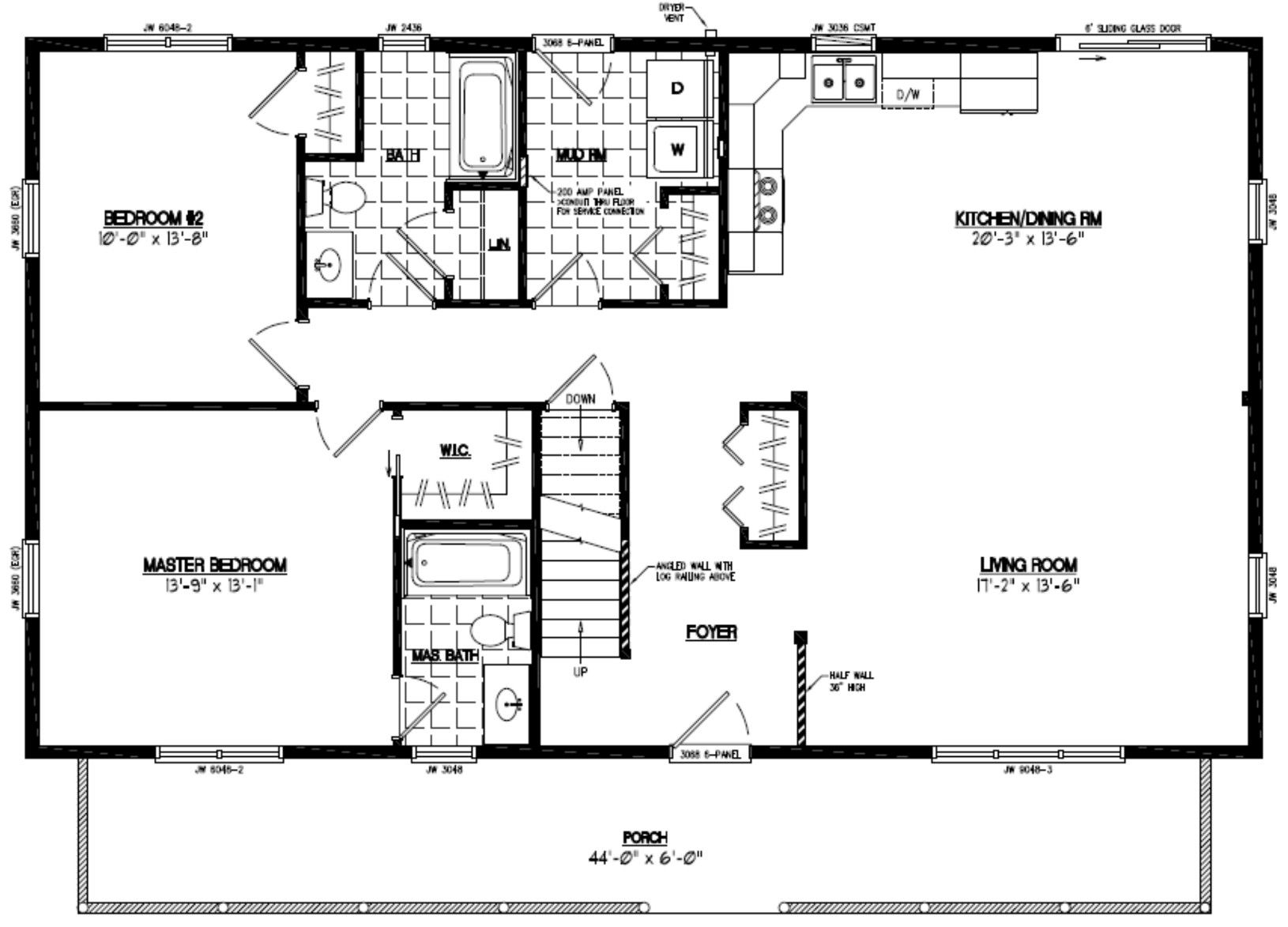 Pin by Teresa White on 2 bedroom 2 bath house plans in