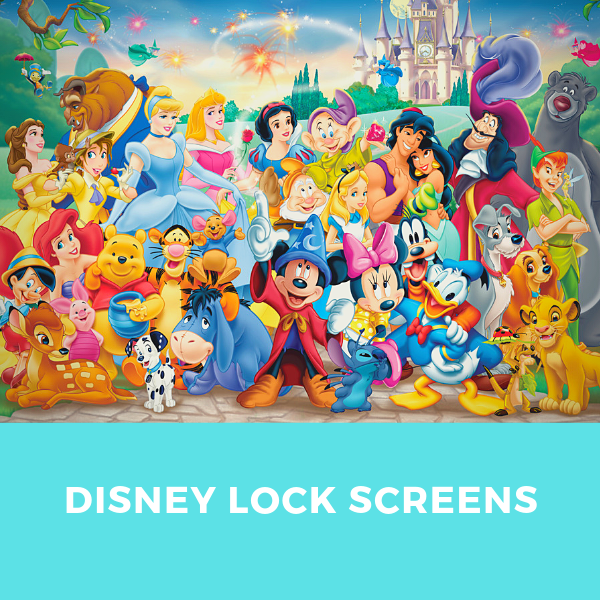 9a9b4460697 Here you will find all kinds of gorgeous Disney lock screens that include  some of your favourite characters such as Mickey Mouse