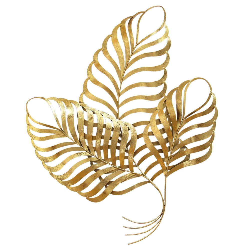 Stratton Home Decor Elegant Leaf Wall Décor | Leaves, Walls and Wall ...
