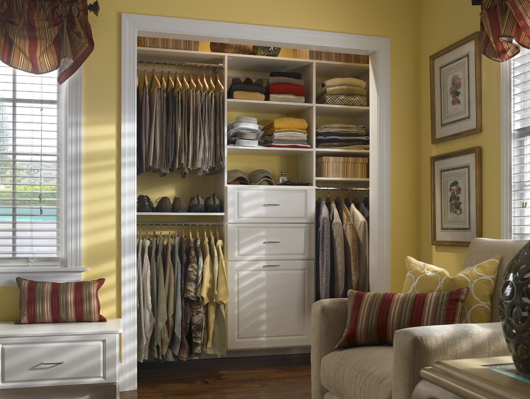 Closet Furniture. Bedroom Traditional Bedroom Idea With Classical ...