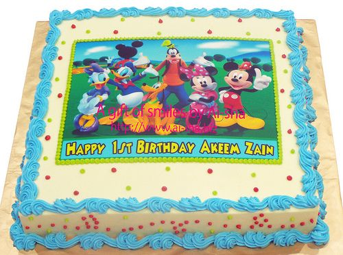 Mickey Mouse Clubhouse Cakes Walmart