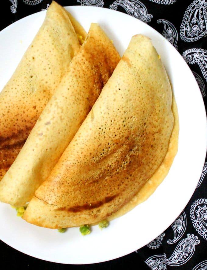 Instant Gluten Free Masala Dosa