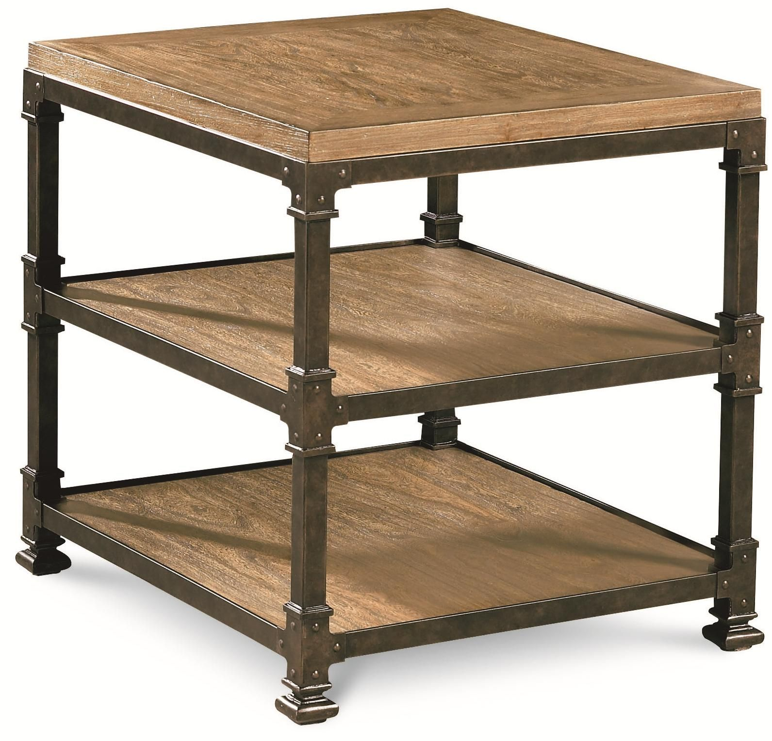 Reinventions Litho End Table W/ 2 Shelves By Thomasville®   Wayside  Furniture   End