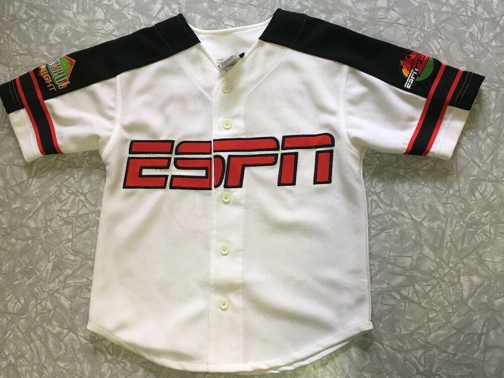 ESPN Baseball Tonight ESPN Zone Youth Jersey Size Small (6