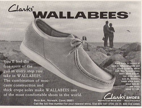 de5e1e08fc3 wallabies.The only shoes I would wear. | 70's memories | Shoes ...