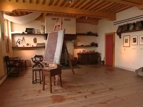 Rembrandt S Studio This Is Where The Master Worked Alone His Assistants Worked In Cubicles In The Attic It Faces North For The Best Light