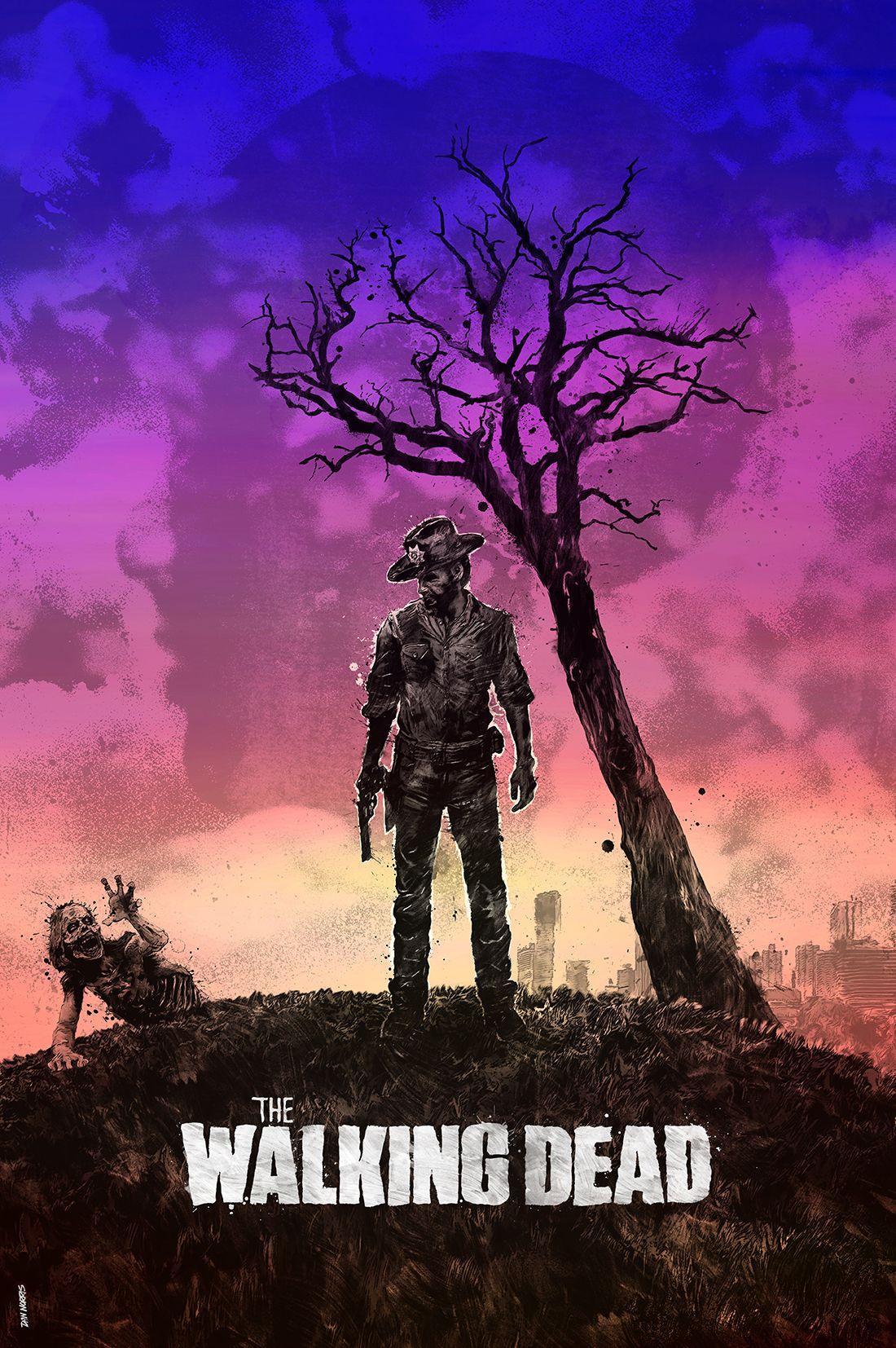 Pin By Den Adams On Walking Dead The Walking Dead Poster