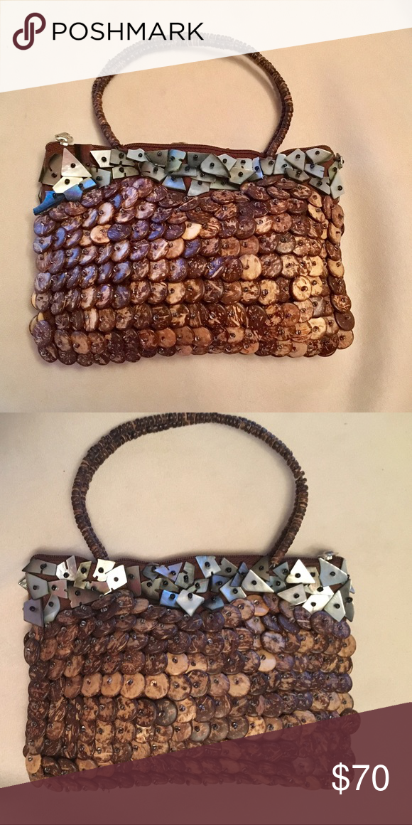 Adrienne Vittadini beaded handbag Only used handful of times. Excellent condition. Adrienne Vittadini Bags