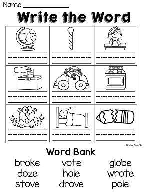 Long O Worksheets And Activities No Prep First Grade Phonics