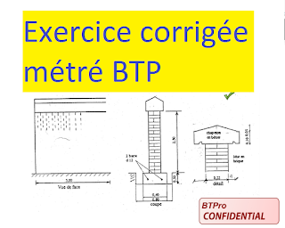 Télécharger cet Exercice corrigé métré pour bâtiment en pdf - Exercice de métré batiment | Genie ...