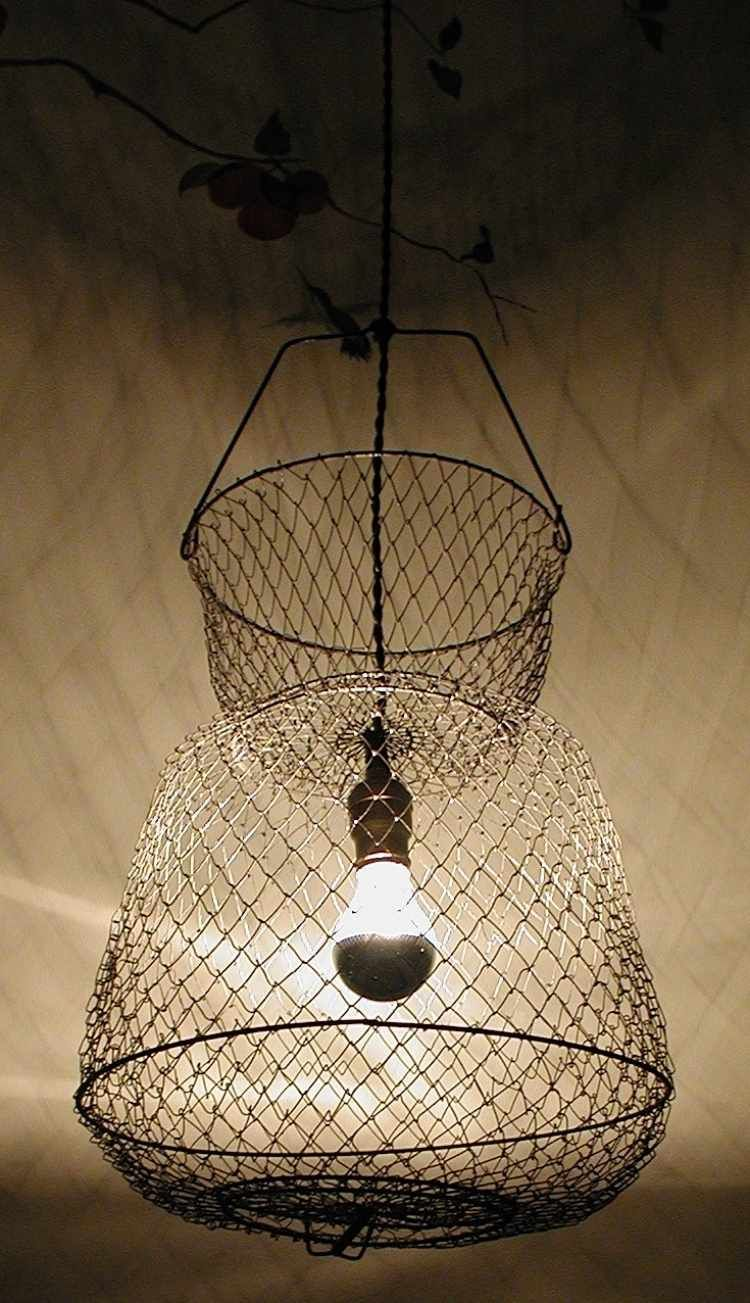 fabriquer une suspension id es cr atives et instructions luminaire pinterest. Black Bedroom Furniture Sets. Home Design Ideas