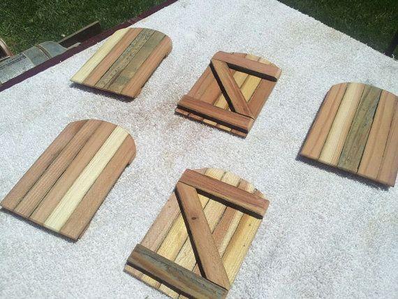 Artikel ähnlich wie Artikel 52 Fairy Garden Redwood Rustikale Zaun Tore auf Etsy