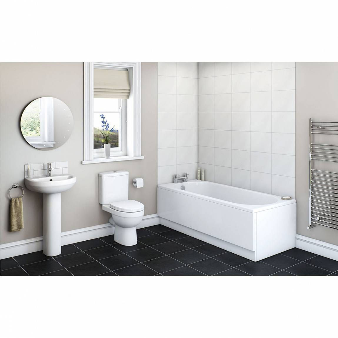 energy bathroom set with richmond 1700 x 700 bath suite victoria plumb - Bathroom Accessories Victoria Plumb