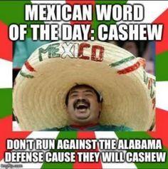5b65f2eaf60fbda7b26ea58a93a080e3 alabama cashew meme bama fandom pinterest american football