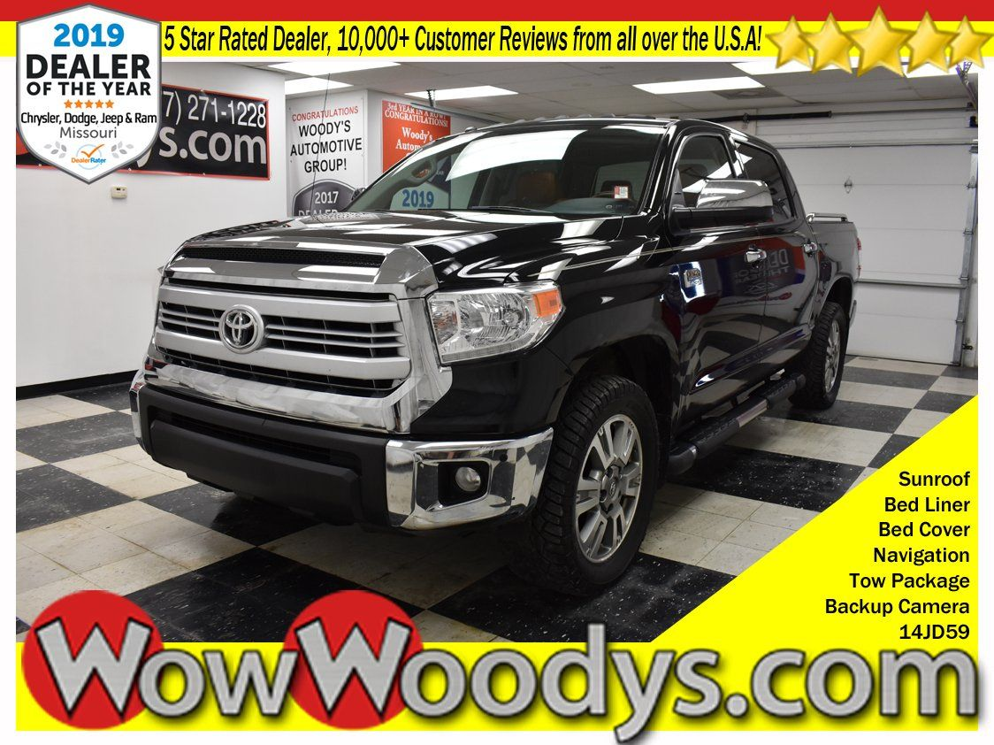 2015 Toyota Tundra Crewmax Platinum for sale at www