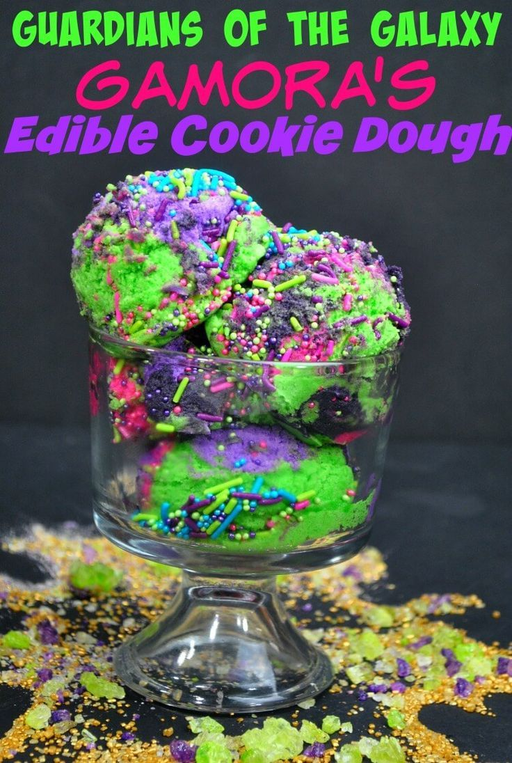 Guardians of the Galaxy Edible Cookie Dough | The TipToe Fairy