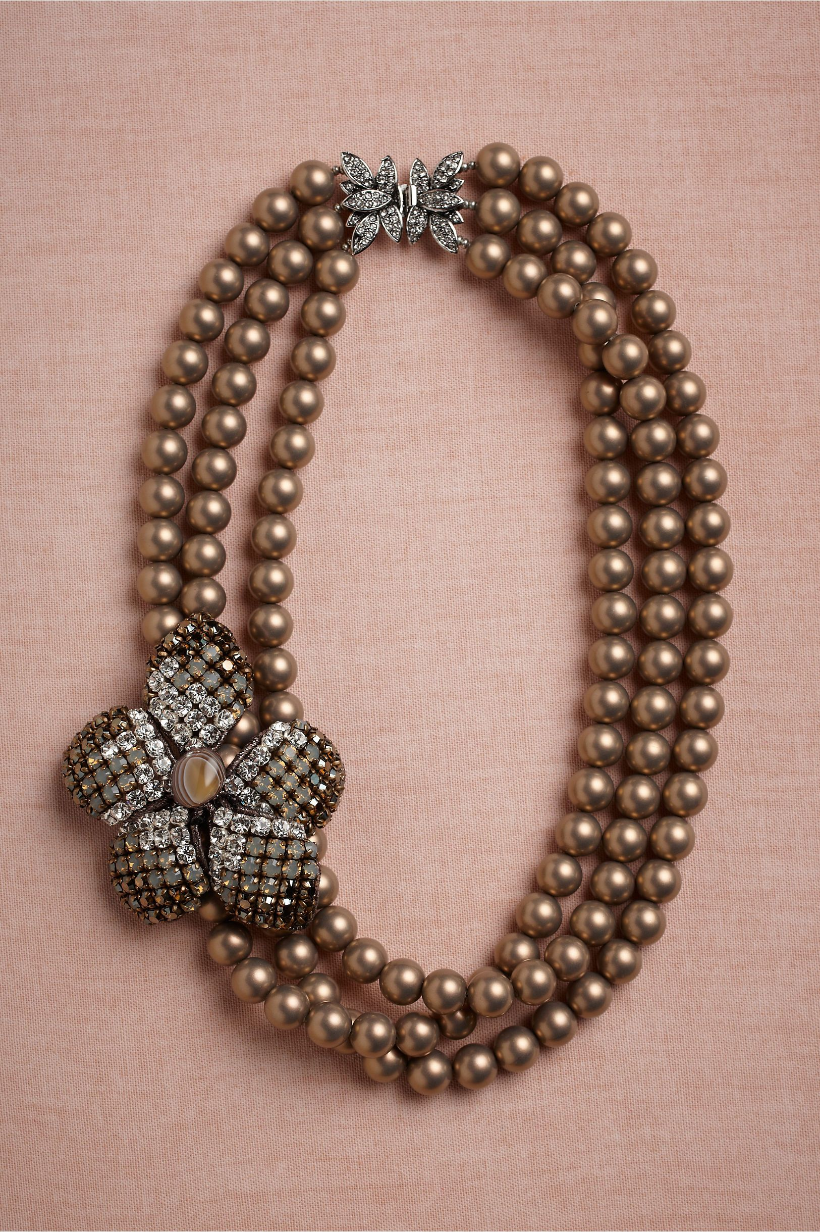 Triune necklace from bhldn wedding dresses pinterest bhldn