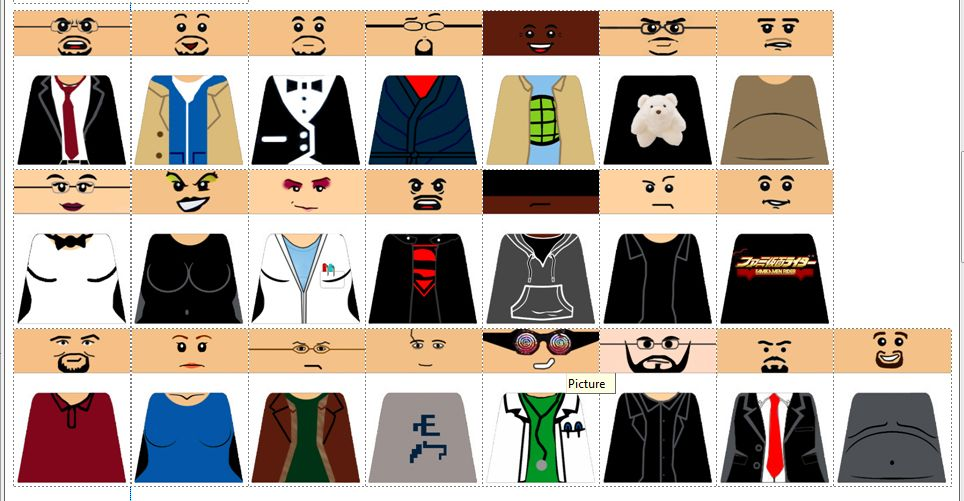 That Guy with the Glasses CUSTOM LEGO DECALS by Digger318 on .