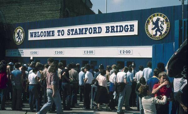 Stamford Bridge, 1960 | Chelsea Football Club | Old london ...
