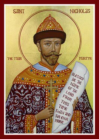 St Nicholas - Tsar Martyr of Russia
