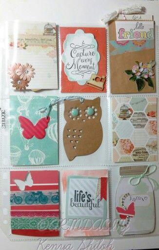 Wonderful idea created by Janette Lane Pocket Letter designed by Artndacity