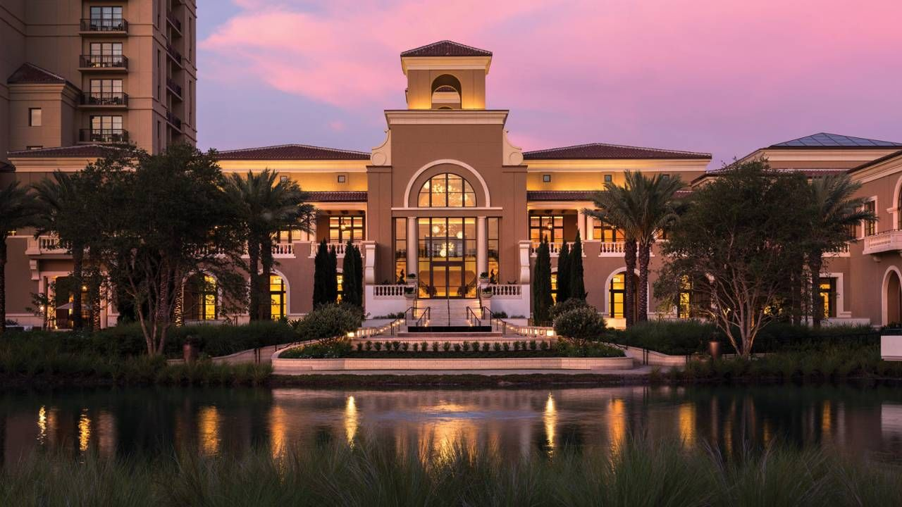 A fachado do Four Seasons Resort Orlando