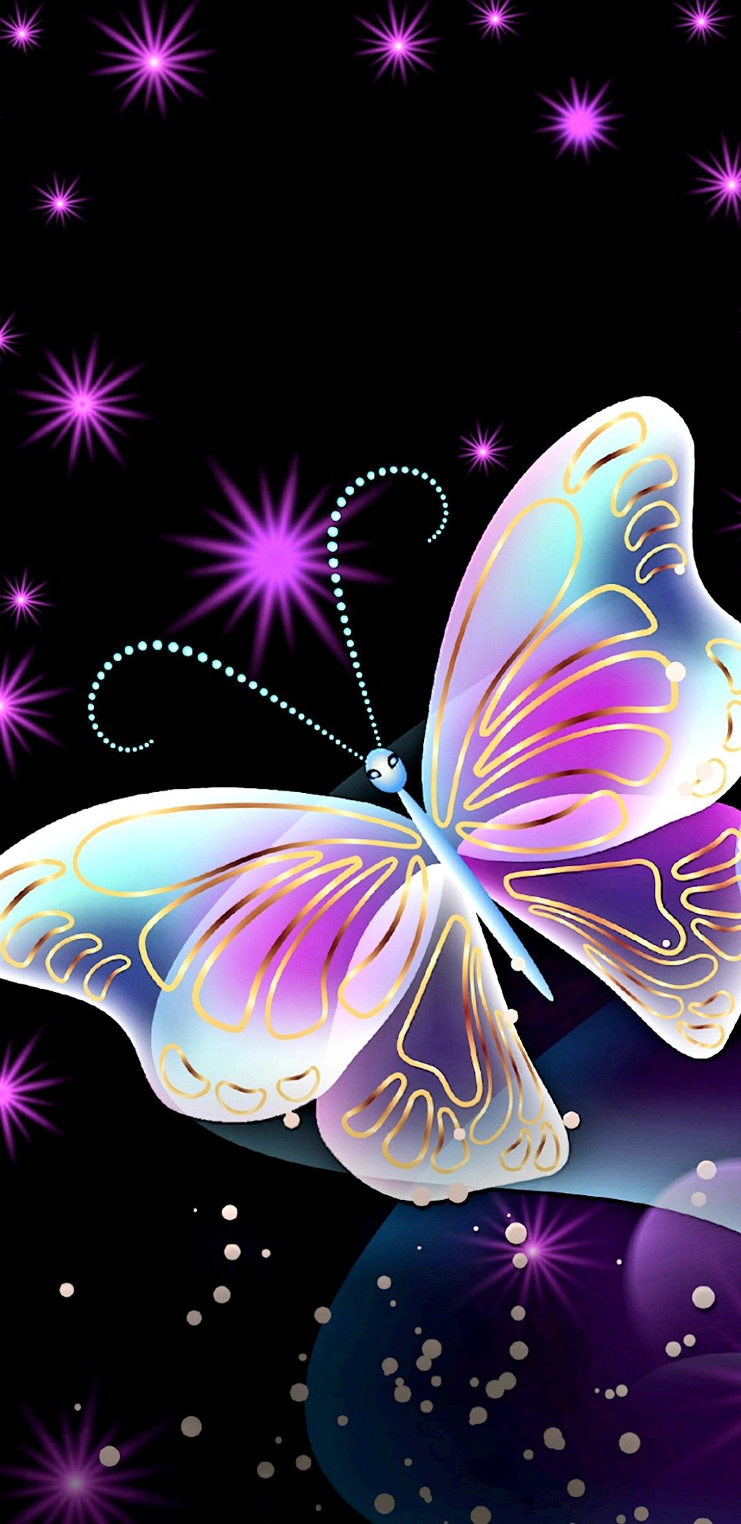 Beautiful Butterfly..🦋 Butterfly background, Butterfly