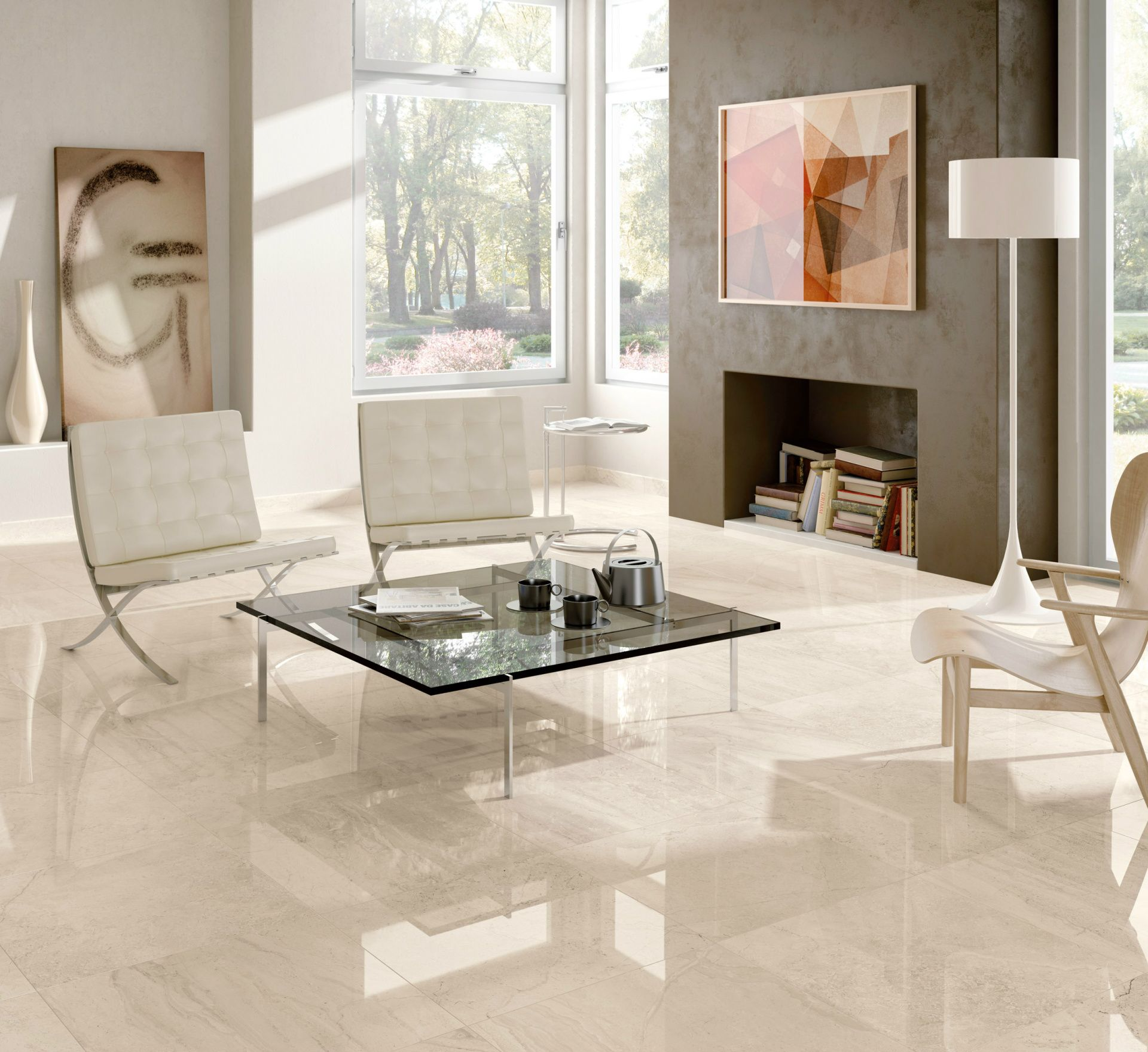 Minoli gotha floor tiles gotha quarz lux 60 x 60 cm from the gotha is one of the stunning marble look collections at minoli luxurious beige marble effect tiles for an environment totally marble effect dailygadgetfo Gallery