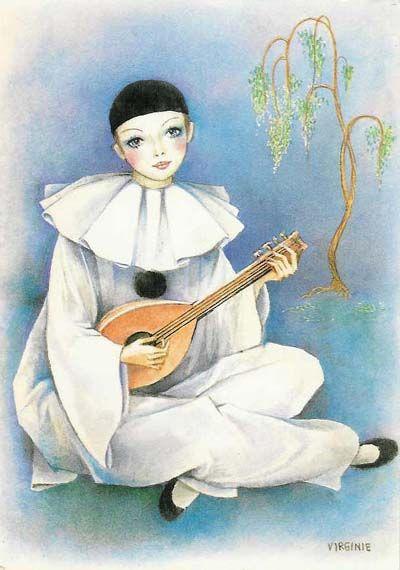 Pierrot Pierott Pinterest Pierrot Dessin And