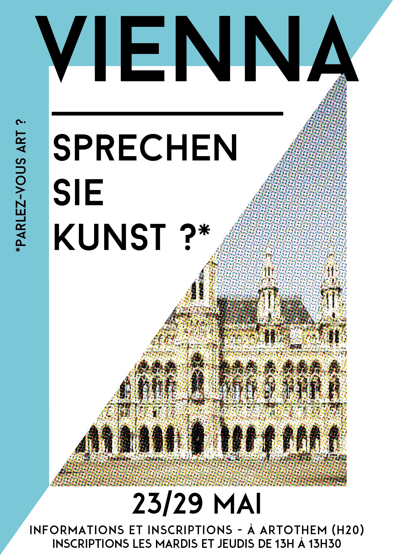#Vienne #Vienna #affiche #poster #TdeB #travel #voyage #communication #graphic #design