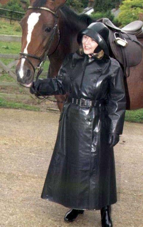 Sbr Riding Mac And Sou Wester Riding Macs Raincoat