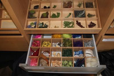 Nature Tray for sorting  categorising.