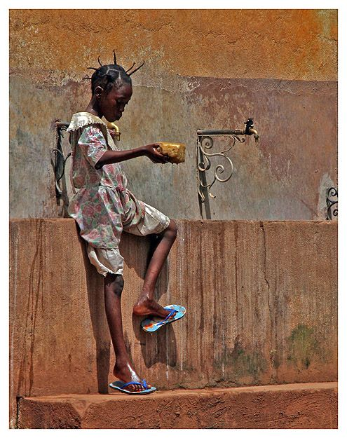 After the bath -  Central African Republic