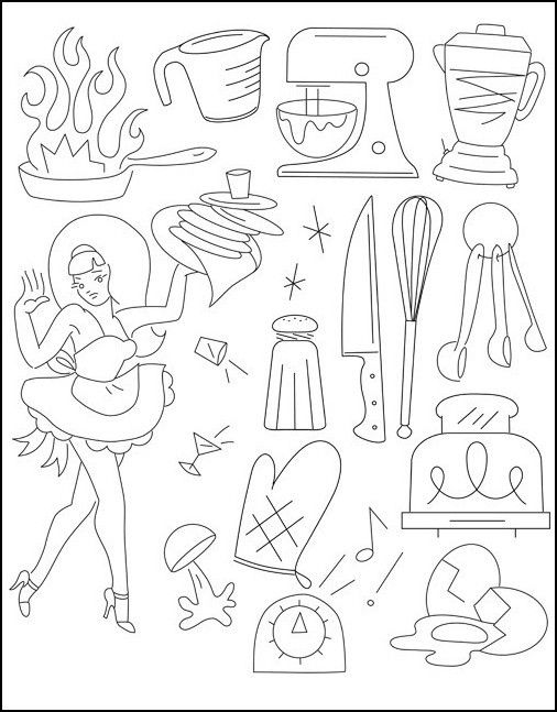 Sublime Stitching: Embroidery Pattern Krazy Kitchen | Embroidery Ideas |  Pinterest | Embroidery, Patterns And Needle Points