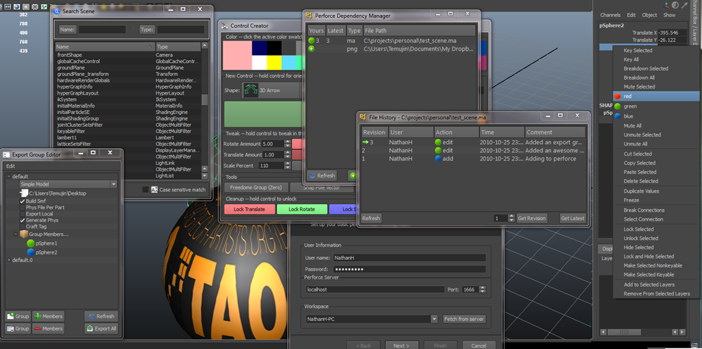 Nathan Horne – Technical Artist » Guide to PyQt/PySide in Maya (Pt