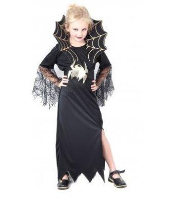 Halloween Araignée Costume Filles Tenue Robe Tutu T-shirt Top Fancy Dress UK