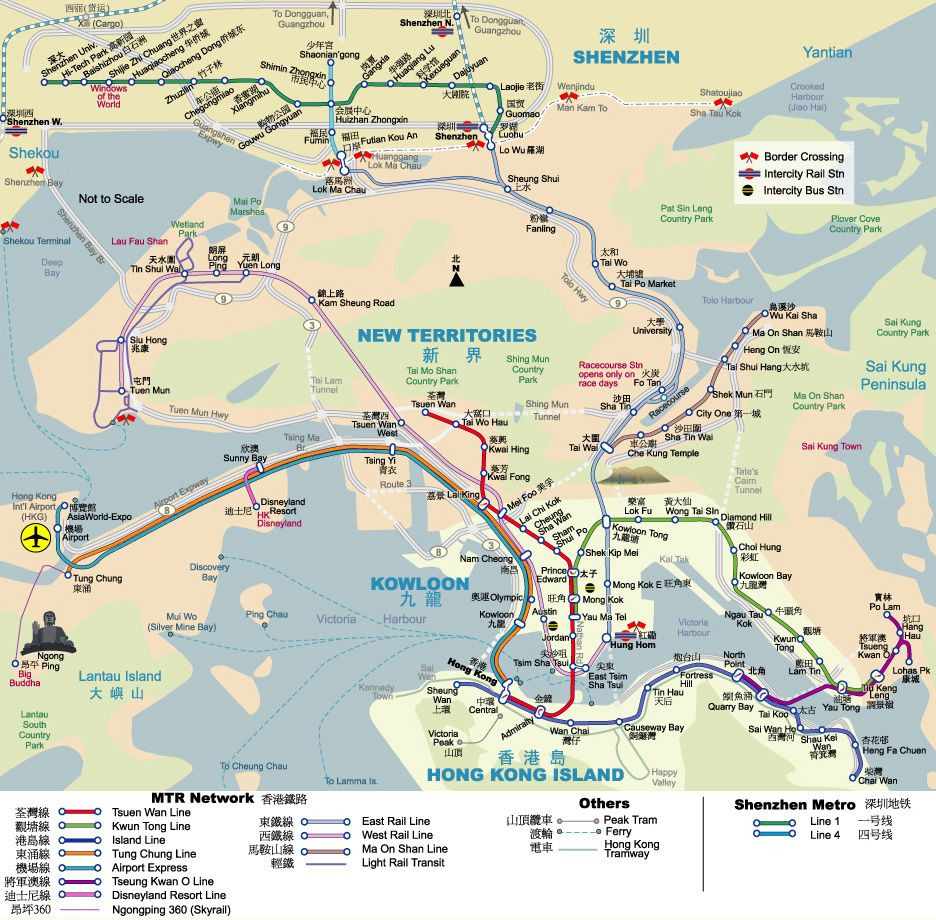 Subway Map Overlay.Hong Kong Mtr Shenzhen Metro Area Map Overlay With Physical Map