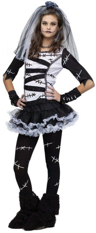 Awesome Costumes Monster Bride Teen Costume just added - halloween teen costume ideas