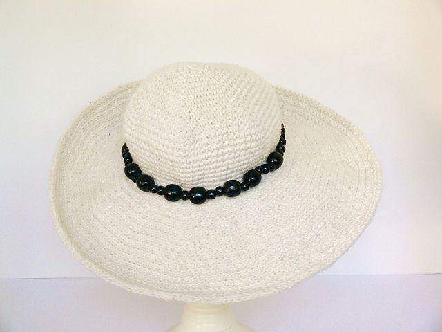 Summer Sun Hat Wide Brim Baby Girl Ladies pattern by Meadowvale ...