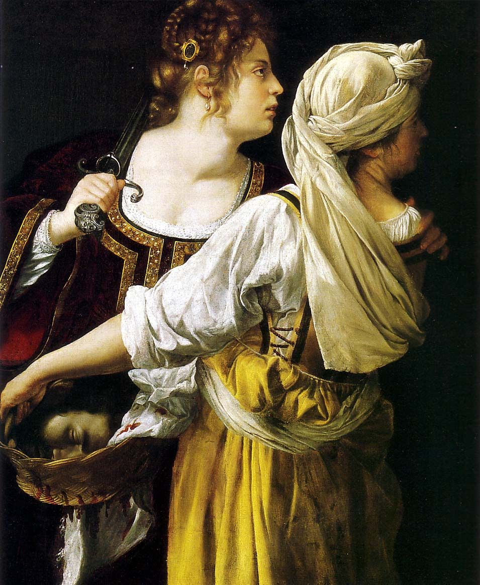 Pittore Francese Del 600 Vissuto A Roma Artemisia Gentileschi Judith And Her Maidservant 1613 14 Oil On