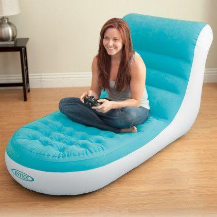 Decouvrez Le Mobilier Gonflable D Interieur Avec Le Canape Lit