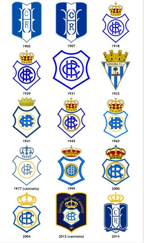 Recreativo De Huelva Escudo España Futbol Equipo De Fútbol
