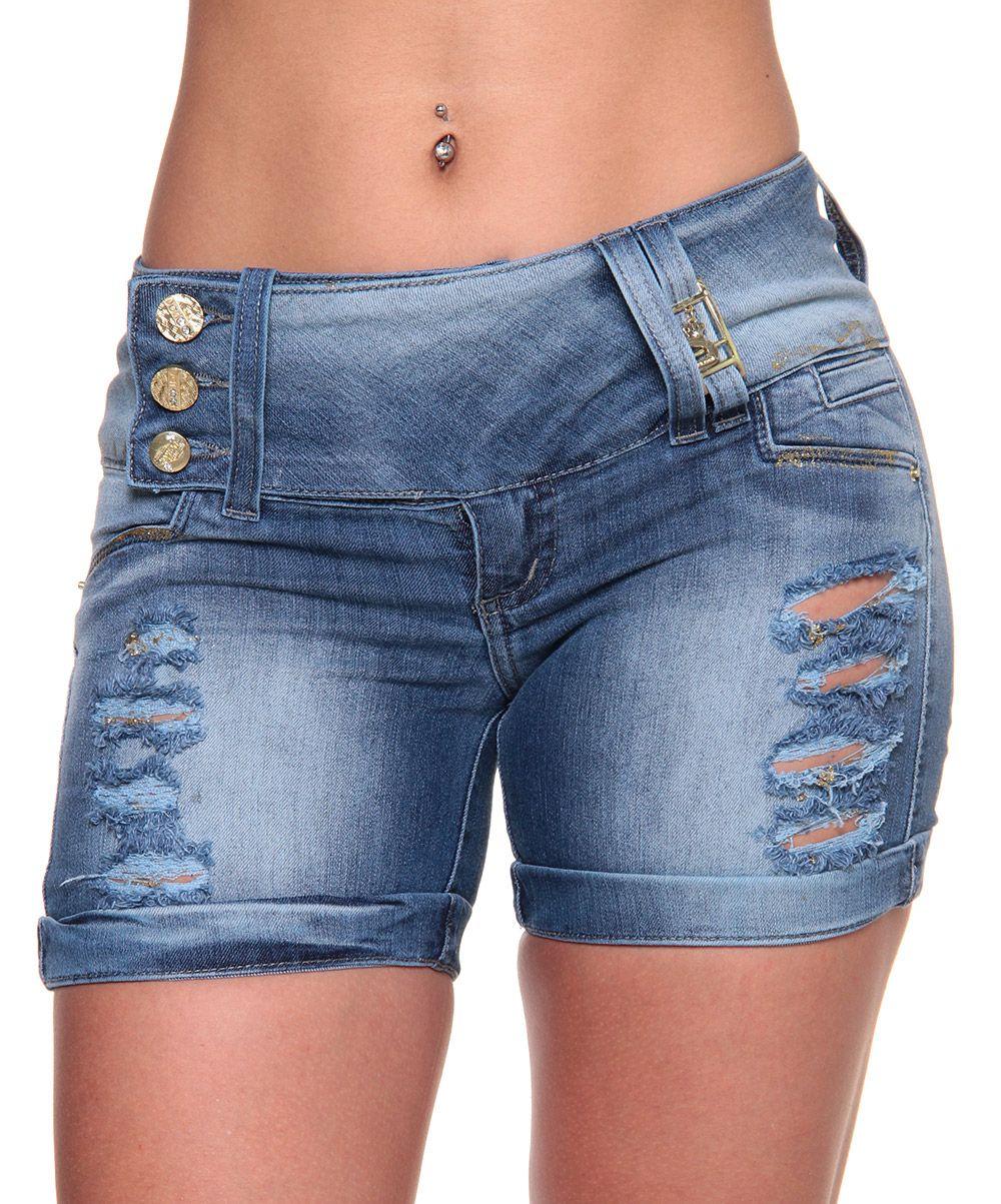 Short Jeans Feminino - BRAZIL JEANS - Brazil Offer  fdaf85aa221