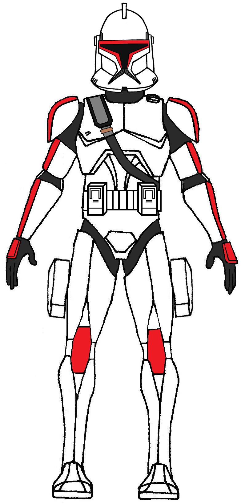 Clone Shock Trooper Phase 1 Star Wars Rpg Star Wars Clone Wars Star Wars Baby