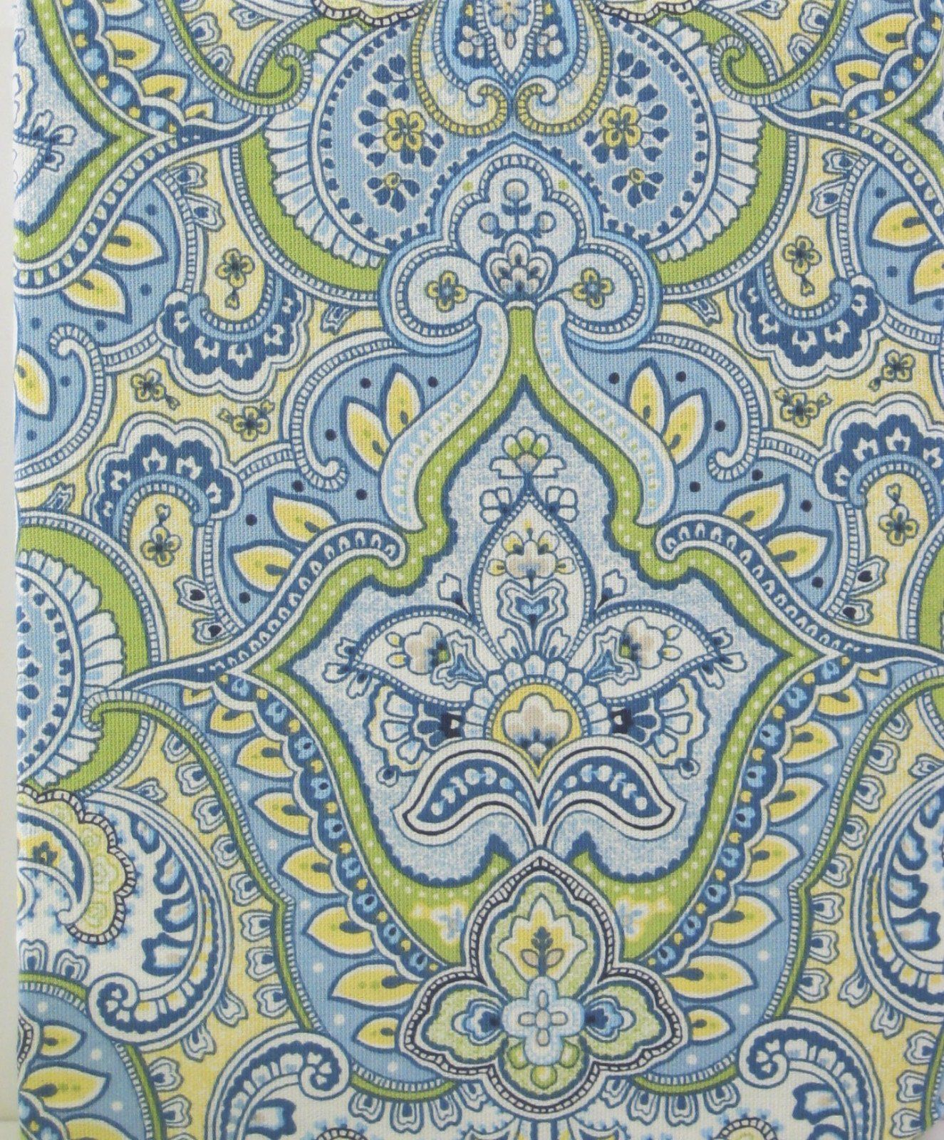 Amazon.com - Laura Ashley Maiden Lane Blue, Green, Yellow, & White ...