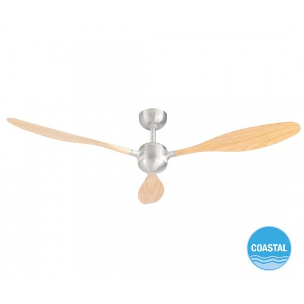 Woody 132cm fan only in brushed aluminium with ash blades ceiling woody 132cm fan only in brushed aluminium with ash blades ceiling fans no lights aloadofball Images