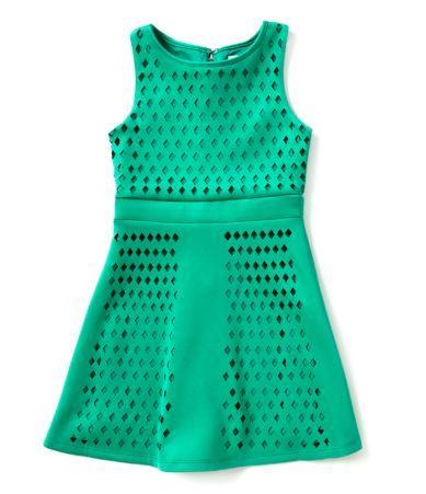 198d125d5ba Shop for GB Girls 7-16 Laser-Cut Scuba Dress at Dillards.com. Visit ...